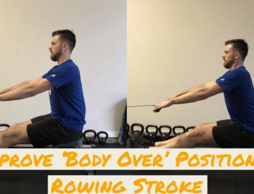 How to Improve 'Body Over' Position in the Rowing Stroke