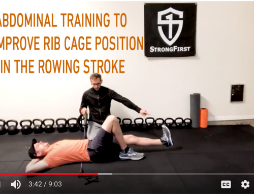 Abdominal Training to Improve Rib Cage Position in the Rowing Stroke