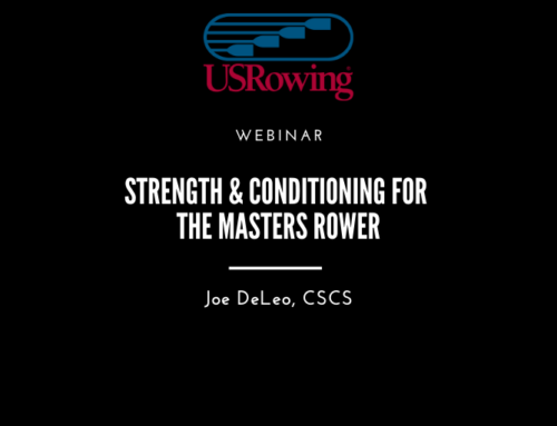 Strength & Conditioning for the Masters Rower